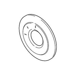 Click here to see Delta RP77064SS Delta RP77064SS Stainless Steel Three Function Diverter Escutcheon