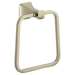 Click here to see Delta 75246-PN Delta 75246-PN Tesla Polished Nickel Towel Ring