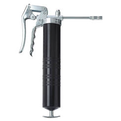 Click here to see Plews 30-300 Plews 30-300 Standard Duty Grease Gun, 14 oz, 5000 psi, Pistol Grip Handle