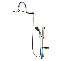 Click here to see Pulse 1019-BN Pulse 1019-BN Aqua Rain Over-sized  Shower-head Brushed Nickel Finish