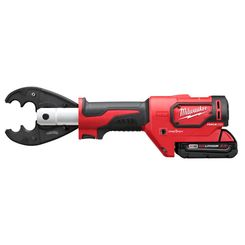 Click here to see Milwaukee 2678-22O Milwaukee 2678-22O M18 Force Logic 6T Utility Crimping Kit with D3 Grooves and Fixed O Die