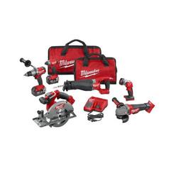Click here to see Milwaukee 2896-26 Milwaukee 2896-26 M18 FUEL 6-Tool Combo Kit