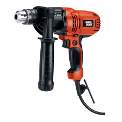 Click here to see Black & Decker DR560 Black & Decker DR560 Compact Corded Drill, 7 A, 1/2 in Keyed Chuck, 0 - 900 rpm