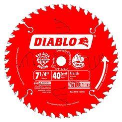 Click here to see Diablo D0740A Diablo D0740A 7-1/4-Inch 40T Circular Saw Blade
