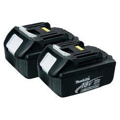 Click here to see Makita BL1830-2 Makita BL1830-2 Battery Pack, 18 V, Lithium-Ion