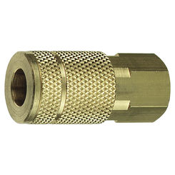 Click here to see Plews 13-138 Plews/Edelmann 13-138 Hose Coupling, 1/4 X 3/8 in, FNPT, 300 psi, Brass