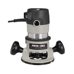 Click here to see Porter-Cable 690LR Porter-Cable 690LR Round Base Corded Router, 120 VAC, 11 A, 1-3/4 hp, 27500 rpm