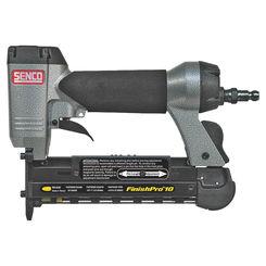 Click here to see Senco 8F0001N FinishPro10 8F0001N Pin Nailer, 110 Nails, 1/2 - 1 in 23 ga Adhesive Collated Nail, 70 - 95 psi