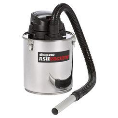 Click here to see Shop-Vac 4041200 Shop-Vac 4041100 Corded Ash Vacuum, 120 VAC, 6.3 A, 5 gal Tank, 80 cfm