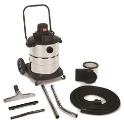Click here to see Shop-Vac 6105000 Shop-Vac 6105000 Wet/Dry Corded Vacuum, 120 VAC, 7.8 A, 2.0 hp Peak, 10 gal Tank, 100 cfm