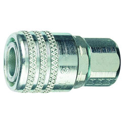 Click here to see Tru-Flate 13-755 Tru-Flate 13-755 Industrial Push Air Line Coupler, 1/4 in, FNPT, 300 psi