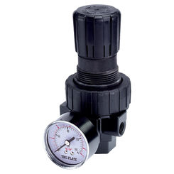 Click here to see Tru-Flate 24-414 Tru-Flate 24-414 Compact Air Line Regulator with Pressure Gauge, 3/8 in NPTF, 6.4 in H