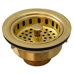 Click here to see Jones Stephens B02008 Jones Stephens B02008 Polished Brass Sink Basket Strainer