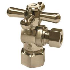 Click here to see Jones Stephens S4203BN Jones Stephens S4203BN Brushed Nickel - Cross Handle 5/8