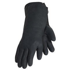Click here to see 3M 90021T Tekk Protection 900 Heavy Duty Chemical Gloves, Large, Neoprene Rubber, Black