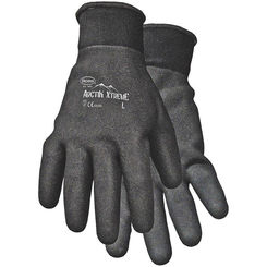 Click here to see Boss 7841L Arctik Xtreme 7841L Protective Gloves, Men's/Large, Nylon Shell, Black, Terry Lining