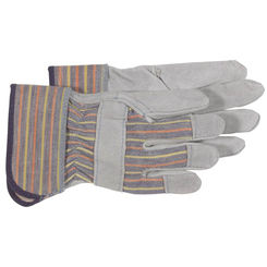 Click here to see Boss 4094K Boss Mfg 4094K Gloves, Split Leather Palm, Child(5-8yrs)