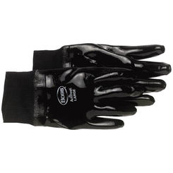 Click here to see Boss 931 Chemguard+ 931 Protective Gloves, Large, Neoprene, Black, Cotton Lining