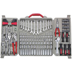 Click here to see Crescent CTK170MP Crescent CTK170MP Mechanic Tool Set, 170 Pieces