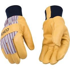Click here to see Kinco 1927KW-L Kinco 1927KW-L Large Lined Grain Pigskin Leather Palm Gloves