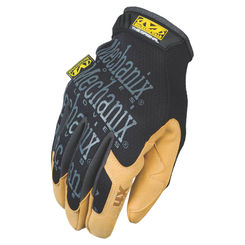 Click here to see Mechanix MG4X-75-012 MECHANIX MG4X-75 Mechanic Gloves, Size 12, 2X-Large, Material4X Synthetic Leather, Brown/Black