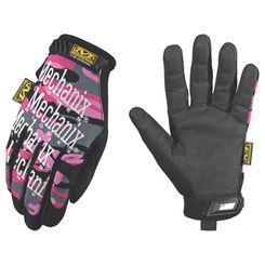 Click here to see Mechanix MG-72-520 MECHANIX MG-72 Mechanic Gloves, Women\'s, Medium, TPR/Spandex, Pink Camo, Foam Padding Lining