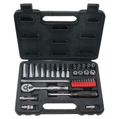 Click here to see Mintcraft TS1035 Mintcraft TS1035 Socket Wrench Sets, 35-Piece - Case of 1
