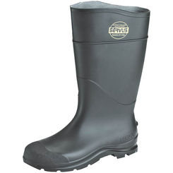 Click here to see Servus 18822-9 Servus 18822-9 Non-Insulated Knee Boot, NO 9, Men's, Black, PVC