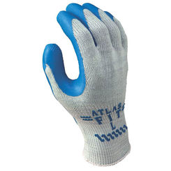 Click here to see Showa Atlas 300S-07.RT Atlas Fit 300S-07.RT Ergonomic Industrial Protective Gloves, Small, Gray, Poly Cotton Lining