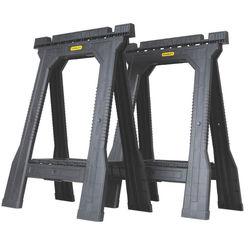 Click here to see Stanley STST60952 FatMax STST60952 Twin Pack Folding Saw Horse, 800 lb, 32.1\
