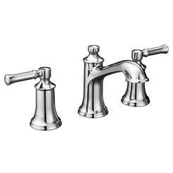 Click here to see Moen T6805 Moen T6805 Chrome Dartmoor Two-Handle Widespread Faucet