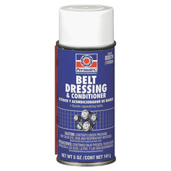 Click here to see Permatex 80074 Permatex 80074 Belt Dressing and Conditioner, 5 oz Aerosol Can, Creamy White Liquid