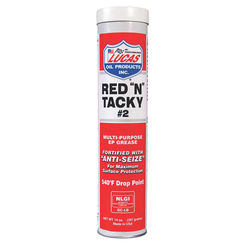 Click here to see Lucas Oil 10005-60 Lucas 10005-60 Red? N Tacky Grease, 14.5 oz, Cartridge, Red?, Solid