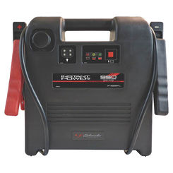 Click here to see Schumacher IP-1825FL Instant Power IP-1825FL Portable Jump Starter, 12 VDC, 255 A at 5 sec, 186 A at 30 sec