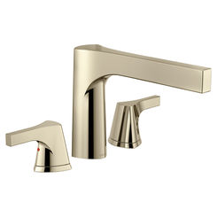 Click here to see Delta T2774-PN Delta T2774-PN Polished Nickel Roman Tub Faucet Trim