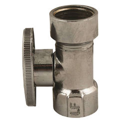 Click here to see Plumb Pak PP57PCLF Plumb Pak PP57PCLF 1/4 Turn Straight Shut-Off Valve, 1/2 X 7/16 X 1/2 in, FIP X OD X Slip Joint, Chrome Plated