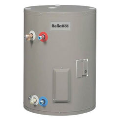 Click here to see Reliance 6 30 EOMBS E Reliance 6 30 EOMBS E Compact Electric Water Heater With Blanket, 240 V, 4500 W, 30 gal Tank, 21 gph Recovery