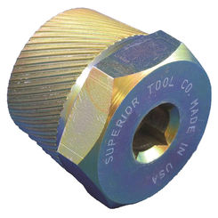 Click here to see Superior 5255 Superior 5255 Tub Drain Extractor Tool, 1/2 in Drive, Hardened Steel, Gold Plate