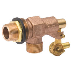 Click here to see B&K 109-813 B & K 109-813 Tank Float Valve, 1/2 in Inlet, Male Inlet X Male Outlet, Bronze