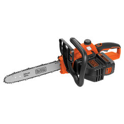 Click here to see Black & Decker LCS1240 Black & Decker LCS1240 Cordless Chain Saw, 40 V, Lithium Ion