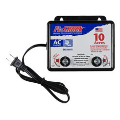 Click here to see Fi-Shock EAC10A-FS Fi-Shock EAC10A-FS Continuous Current AC Powered Electric Fence Charger, 110 - 120 VAC Input