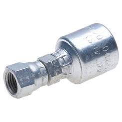 Click here to see Gates G252000606 MegaCrimp G25 Hydraulic Hose Coupling, 3/8 in, Female 45 deg Flare Swivel, Steel