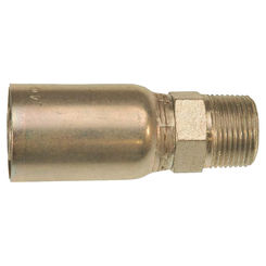 Click here to see Gates G251001616 MegaCrimp G251001616 Hydraulic Hose Coupling, 1 in, MNPT, Low Carbon Steel