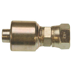Click here to see Gates G251700808 MegaCrimp G251700808 Hydraulic Hose Coupling, 1/2 in, Female JIC 37 deg Flare Swivel, Carbon Steel