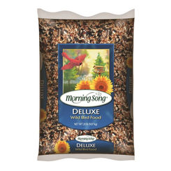 Click here to see Global Harvest 1022046 Morning song 1022046 Wild Bird Food, 20 lb, Bag