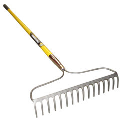 Click here to see Mintcraft 33256 R16-AMF MintCraft 33256 R16-AMF Bow Rake With Handle, 16 Tine, 60 in Handle