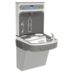Click here to see Elkay LZS8WSLK Elkay LZS8WSLK ezH2O Bottle Filling Station w/ Single Cooler - Filtered, 8 GPH, Wall Mount, ADA, Light Gray Granite