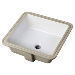Click here to see Gerber 13-710 Gerber 13-710 Wicker Park Square Undercounter Bathroom Sink