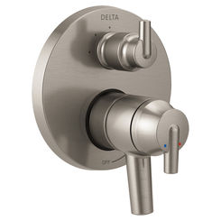 Click here to see Delta T27859-SS Delta T27859-SS Stainless Steel Monitor Valve Trim Only with Diverter