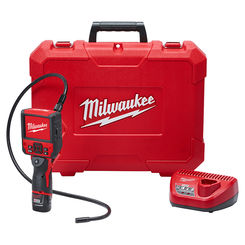Click here to see Milwaukee 2315-21 Milwaukee 2315-21 M12 M-Spector Flex 3-foot Inspection Camera Cable Kit